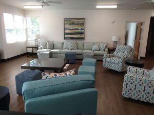DEC Contracting Inc, Living room with furniture